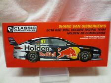 2018 SHANE VAN GISBERGEN 1:18 SCALE ZB HOLDEN COMMODORE – NO OPENING PARTS