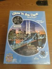 TRIBUTE IN LIGHT We Will Remember Glow in the Dark Jigsaw Puzzle 550 pieces NEW