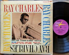 BLUES BARRELHOUSE & BOOGIE PIANO LP: FRED DUNN 7 songs from 1947 + RAY CHARLES
