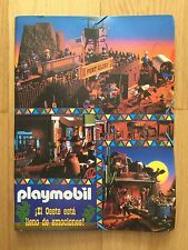 PLAYMOBIL FAMOBIL 1995 CATALOGO KATALOG PROSPEKT NEW NEUF 5 PUZZLES RARE