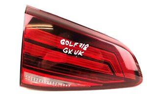 Volkswagen Golf MK7 Rear Left Trunk Inner LED Taillight Tail Light 5G0945093AH