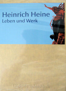 Heinrich Heine Leben And Factory Poems/Dramas CD Digital Library No. 7