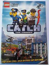 LEGO CITY POLICE 2014 CATALOGUE BOOKLET CATCH THE CROOKS SECRET CODES no minifig