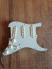 Retro Style Pre Wired Strat Pick Guard Mint Green Seymour Duncan 50 Pickups