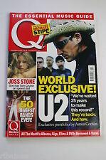 Q Magazine November 2004: U2/Rock Death's/The Clash/REM Michael Stipe/Dizzee Ras