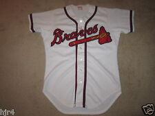 Vintage Atlanta Braves MLB Wilson Game Worn Jersey 40