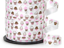 "Curling Ribbon Cupcakes 3/8"" Inch - 50 Feet Parties, Gifts"