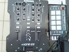 Allen And Heath Xzone 23 With Inofaders and reloop serato neon controller