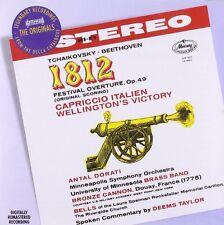 OUVERTÜRE SOLONELLE 1812/WELLINGTONS SIEG MERCURY LIVING PRESENCE  CD NEU