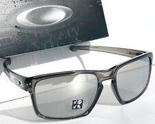 NEW* Oakley SLIVER Smoke Grey POLARIZED Chrome Iridium Sunglass oo9262-13
