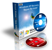 Windows XP Home Recovery Boot Disk DVD + Drivers + ISO Download 32 Bit SP3