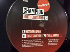 "Champion. Motherboard ep 12"" vinyl HDR 004"