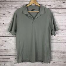 Nike Golf Men's Tour Performance Polo Shirt Size Large Gray Short Sleeve