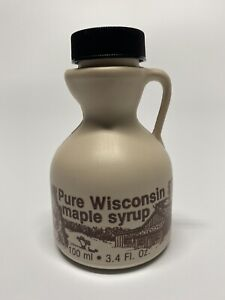 3.4oz of 100%🍁Organic & Pure Wisconsin Maple Syrup Makes A Great Wedding Favor!