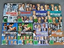 8x DVD Greys Anatomy - Staffel 2.1 + 3 + 4.1 + 4.2 + 5.1 + 5.2 + 6.1 + 7.1