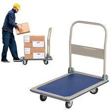 Kariyer 660lbs Platform Truck Dolly Folding Hand Push Cart Moving Home Warehouse