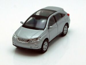 WELLY LEXUS RX 450h 1:34-1:39 Scale DIE CAST METAL CAR MODEL WHITE/SILVER/BLUE