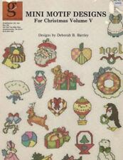 Graphworks Mini Motif Designs for CHRISTMAS Volume V for Counted Cross Stitch