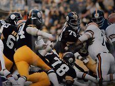 Mean Joe Green The Steel Curtain 1970's Pittsburgh Steelers defensive line 16x20