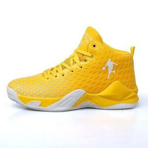 2021 Unisex Basketball Shoes Men High Top Sports Air Cushion Hombre Athletic Mal