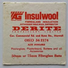 New listing Derite Pl Insulwool Commercial Rd & Ryan St Morwell 051342174 Coaster (B271-224)