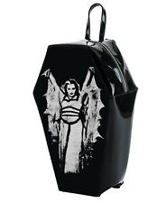 Universal Monsters Gothic Lily Munster PVC Coffin Backpack by Rock Rebel