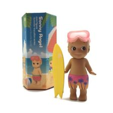 SONNY ANGEL FIGURE SUMMER VACATION 2017 PALM TREE PANTS GOGGLES YELLOW SURFBOARD