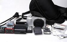 Sony Alpha nex-c3 16.2mp Fotocamera Digitale-Argento