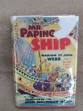 Jean W. Heap Illus. Mr Papingay'S Ship by M. St John Webb Pendelfin signed Dj