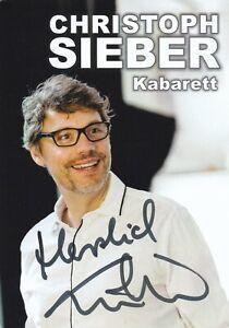 Autogrammkarte Christoph Sieber - TV / Comedy / Kabarett - Deutschland