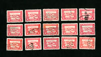 US Stamps # 402 F-VF & VF Used Lot of 15
