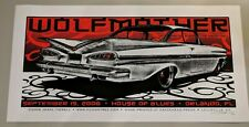 Wolfmother 2006 HOB Orlando Concert Poster Jeral Tidwell S/N #27/90 Screenprint