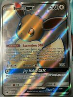 FULL ART Eevee GX ULTRA RARE Black Star Promo SM242 Pokemon - LP
