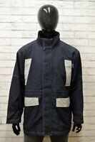 Giubbino AUSTRALIAN Uomo Taglia XXL Giubbotto Giacca Cappotto Bomber Jacket Blu