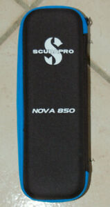 SCUBAPRO NOVA 850 LIGHT CASE, NICE!