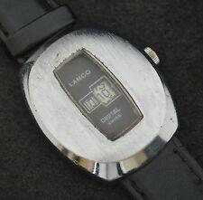 Very Rare Vintage Retro Collectible LANCO Digital Jump Hour Watch Cal. EB 8800