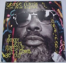 "GEORGE CLINTON P-FUNK ALLSTARS If Anybody Gets Funked Up EP 12"" 33rpm Vinyl EX"