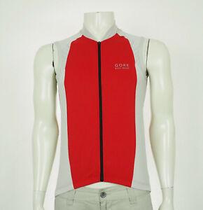 Gore Bike Wear Red Full-Zip Tech Bike Cycling Jersey Mens Medium