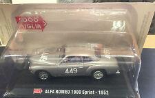"STERBEN CAST 1000 MEILEN "" ALFA ROMEO 1900 SPRINT - 1952 "" + BOX 2 SKALA 1/43"