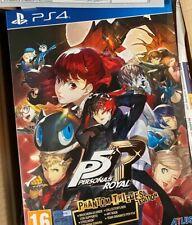 Persona 5 Royal Phantom Thieves Edition Limited Pal Ita Nuovo Sigillato