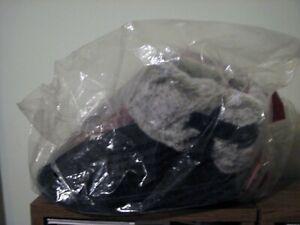 Dearfoams Women's Memory Foamblack  Slippers Size M  NEW