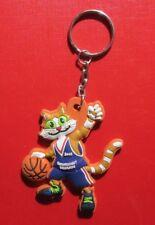 Keychain Eurobasket Belgrade 2005 Mascot  Keyring Rubber