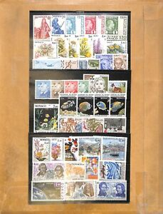 [OP9141] Monaco lot of very fine MNH on 12 pages
