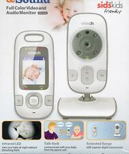 NEW Baby Monitor VTech BM2600 Talk Back 2 way communication 5 lullabies 300m ran