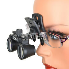 Dental Clip 2.5X Medical Binocular Loupes Optical Surgical Magnifier DY-109 CA