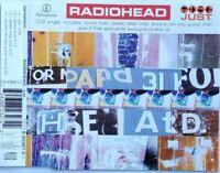 RADIOHEAD just (CD, single, CD2, 1995) alternative rock, very good condition,
