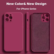 Чехол для iPhone 11 12 Pro Max Mini Xr Xs X 8 7 плюс SE ударопрочный силиконовый чехол