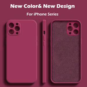 Case For iPhone 11 12 Pro Max Mini XR XS X 8 7 Plus SE Shockproof Silicone Cover