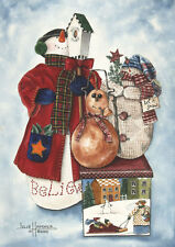 """Let it Snow"" Greeting Cards-pack of 10 & envelopes, by artist, Julie Hammer"