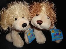 LOT of 2 Webkinz PUPPIES:   GOLDEN RETRIEVER   +  COCKER SPANIEL -  NWT